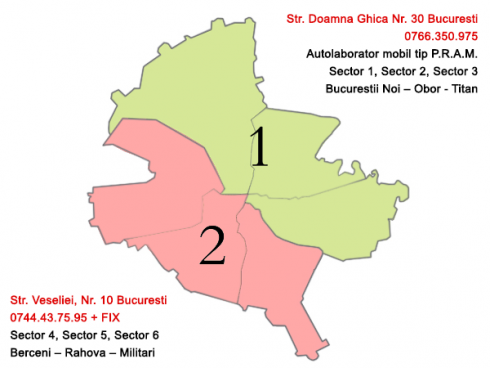 Zone Bucuresti