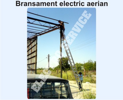 Bransament electric aerian